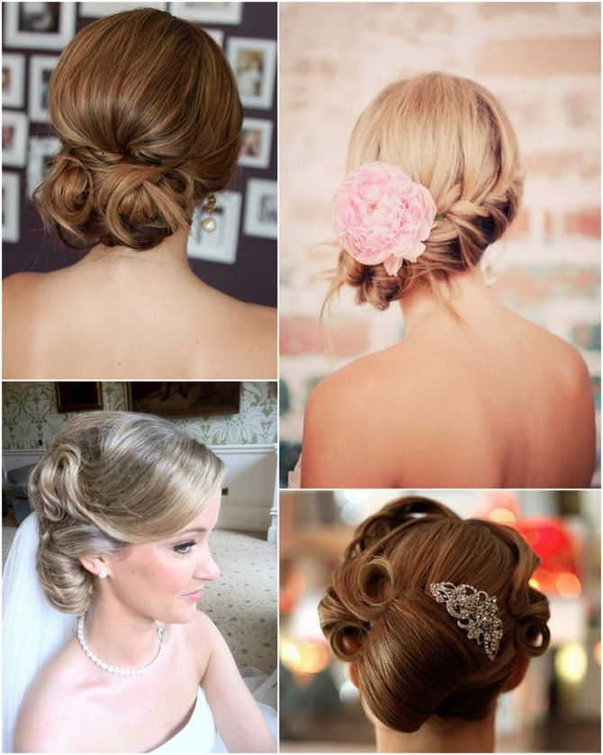 20 Beautiful Bridal Updos - no updo for me, but maybe for bridesmaids!