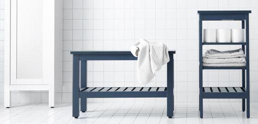 IKEA Badrumsförvaring och badrumsmöbler