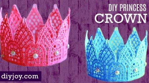 How to Make an Adorable DIY Princess Crown | DIY Joy Projects and Crafts Ideas