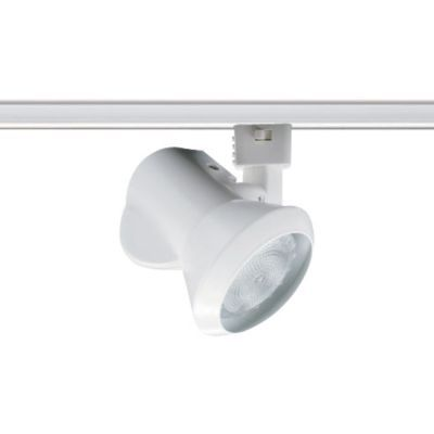 Close-Ups Small Track Head by Juno $35 - simple track light that could be dropped as a pendant flood for the Lumicor feature.