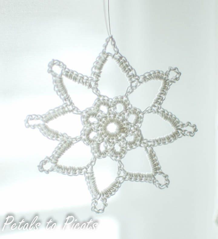 Grandma Jennie's Snowflake Pattern: this is lovely