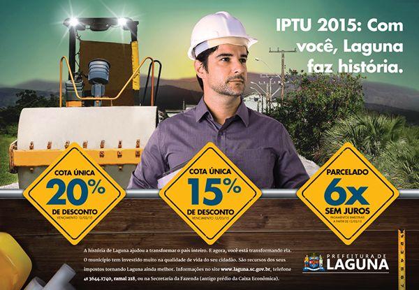 IPTU 2015 on Behance