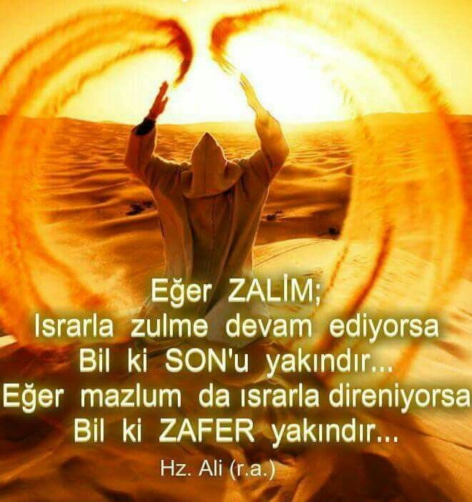 Zafer, Sevgidir. Sevginin Sahibi Allah....