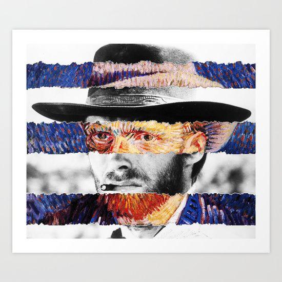 Van Gogh + Clint Eastwood.