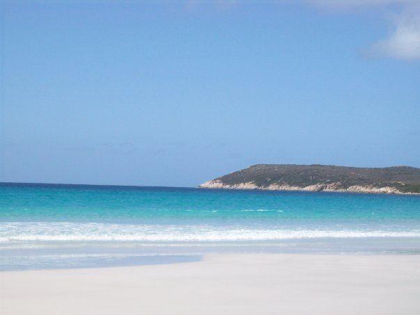 Cheynes beach so beautiful ..
