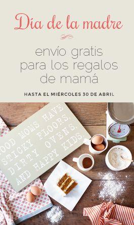 Dia de la Madre - envios gratis hasta el miércoles 30 de abril
