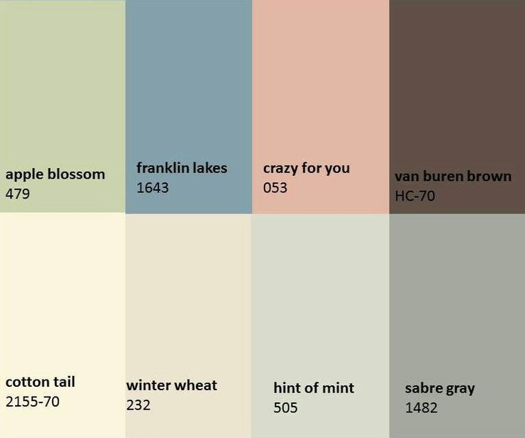 Discontinued Benjamin Moore Paint Colors From