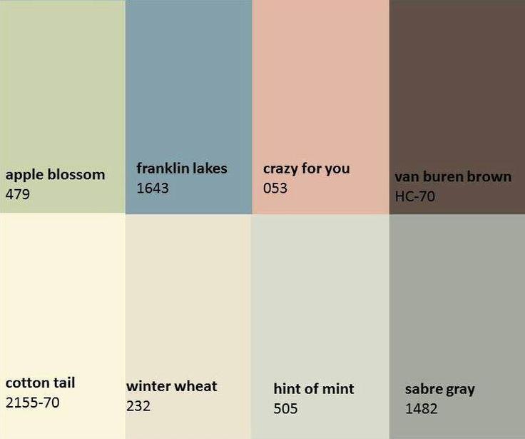 Benjamin moore paint color scheme color pinterest for Is benjamin moore paint good
