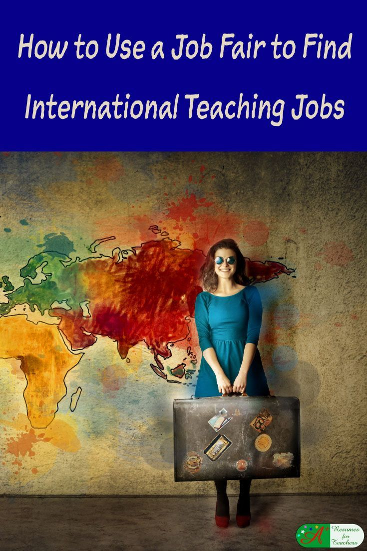 How to Use a Job Fair to Find International Teaching Jobs via @https://www.pinterest.com/candacedavies1/