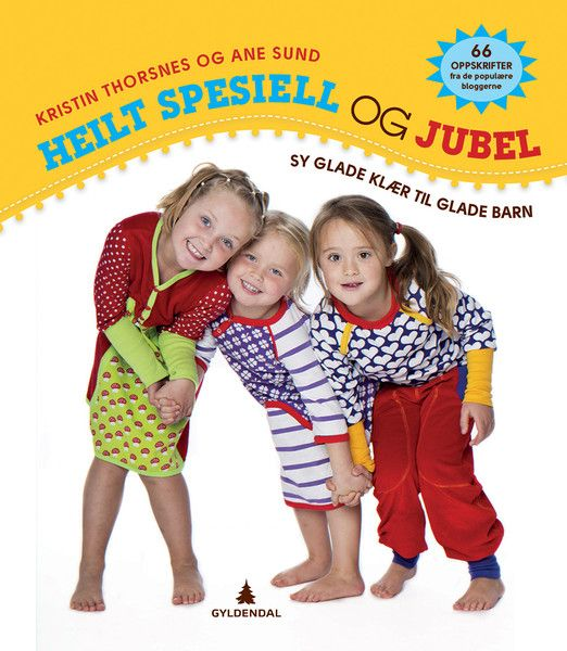Lækker bog med retro inspirerede mønstre til børn. Kristin Thorsnes og Ane Sund står bag denne fantastiske bogSy glade klær til glade barn, hvor de har samlet