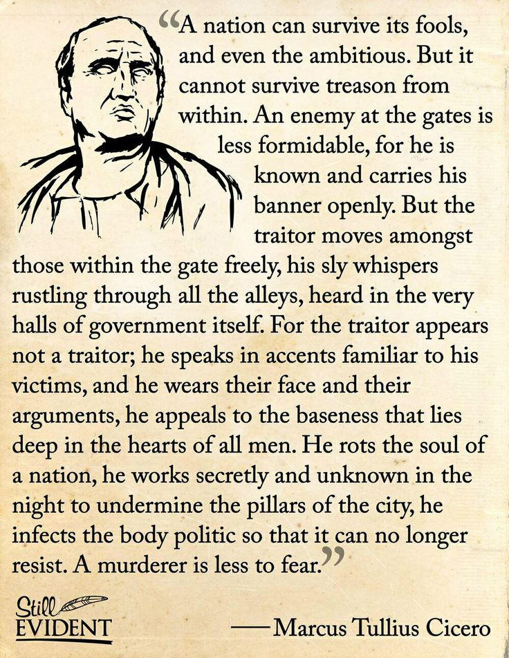 The life and history of marcus tulius cicero