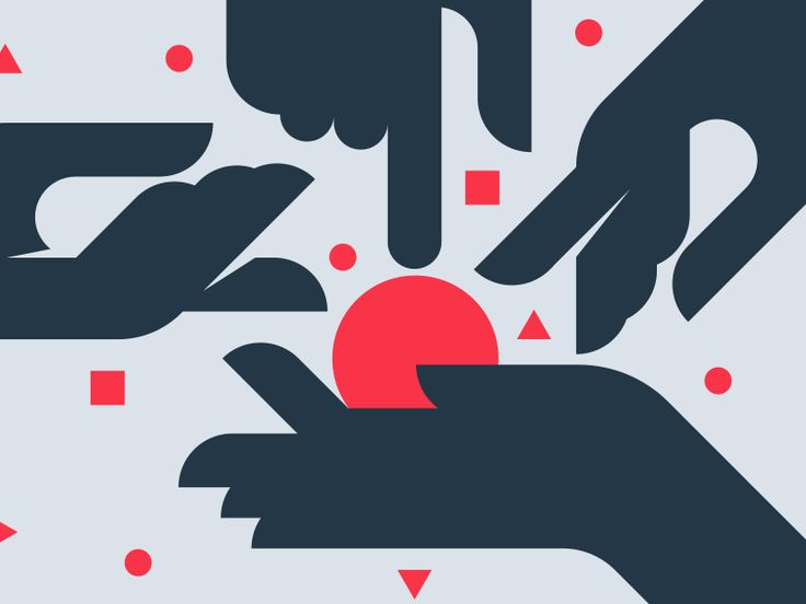 Hands of Creation by Jack Bloom #Design Popular #Dribbble #shots