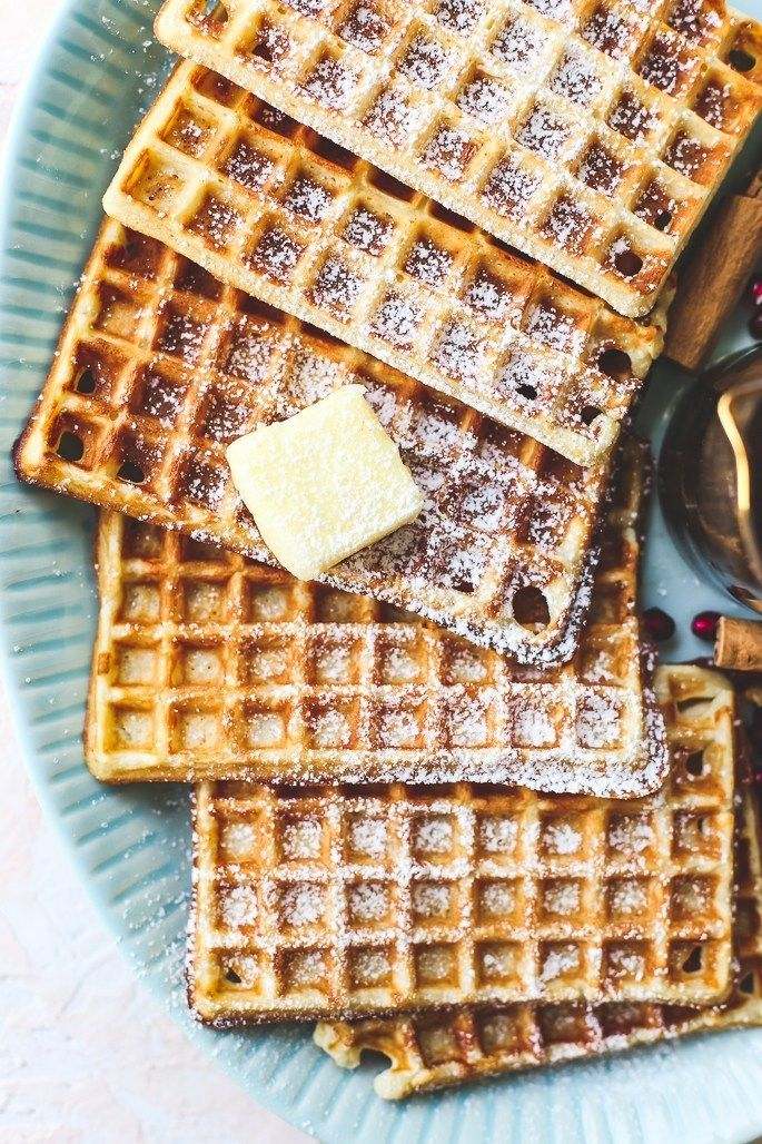 Sweetoothgirl Crispy Buttermilk Waffles With The Preppy Foodie Buttermilk Waffles Waffles Sweet Breakfast