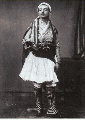İstanbul hayranı Fransız yazar Pierre Loti,(1865-1923)...