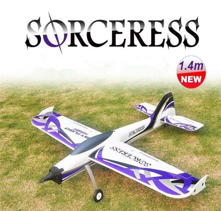The Sorceress RC Glider EPO Foam Airplane - Model: LX-08024