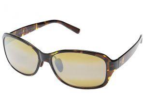 Maui Jim Koki Beach (Olive Tortoise/HCL Bronze) Fashion Sunglasses
