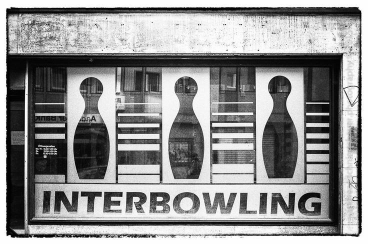 https://flic.kr/p/zaUZx7   INTERBOWLING - Goodbye   Photograph © Andreas Schniertshauer, INTERBOWLING - Goodbye; From the series: lost in space and time, Aachen, GER 2014.