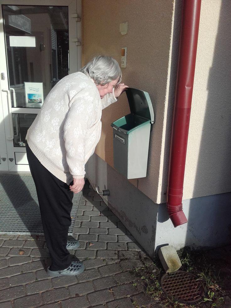 Postia hakemassa