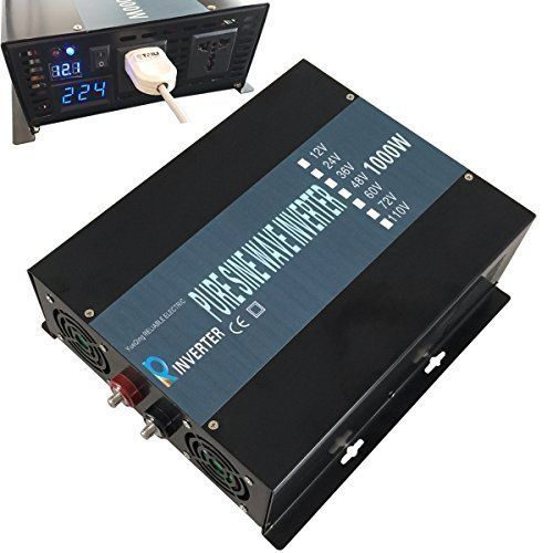 Reliable 1000W Full Power Pure Sine Wave Inverter 12v 120v 60hz Solar System LED Display Yueqing Reliable http://www.amazon.com/dp/B0142C44XU/ref=cm_sw_r_pi_dp_8F4Gwb09HD0S8