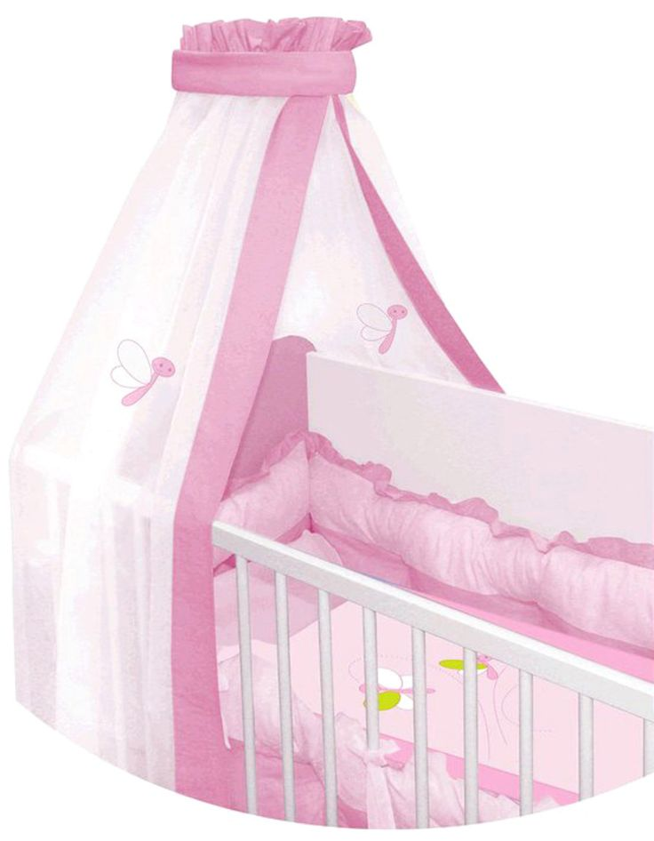 Lorelli σετ πάντες-κουνουπιέρα για βρεφικό κρεβάτι (κούνια) «Butterfly» Κωδικός: 17226  €60,00