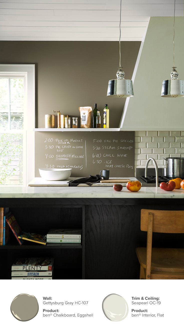 Chalkboard Walls Ideas Colors Inspiration Benjamin Moore Kitchen Wall Design Chalkboard Wall Chalkboard Paint Wall