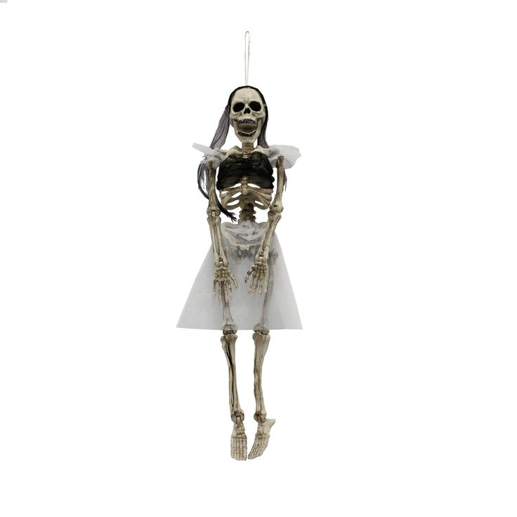 Check out Totally Ghoul Hanging Bride Skeleton Halloween Decoration - ShopYourWay
