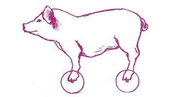 Porco rosso dessin de Vova Mychkine