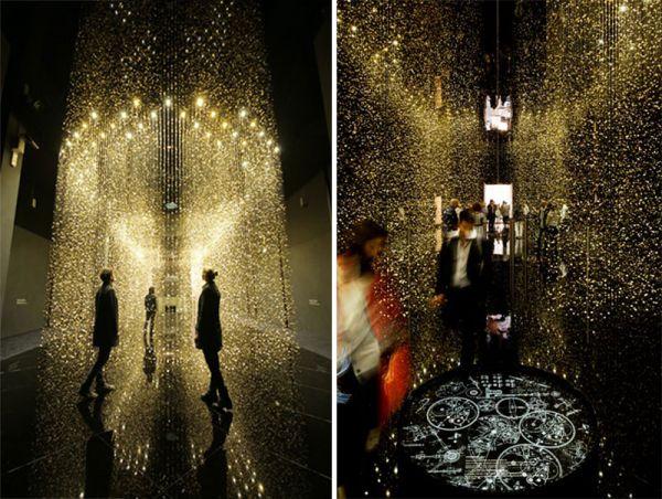 手錶大廠品牌 Citzen 與巴黎的建築師 Tsuyoshi Tane 聯手策劃《LIGHT is TIME》的裝置藝術