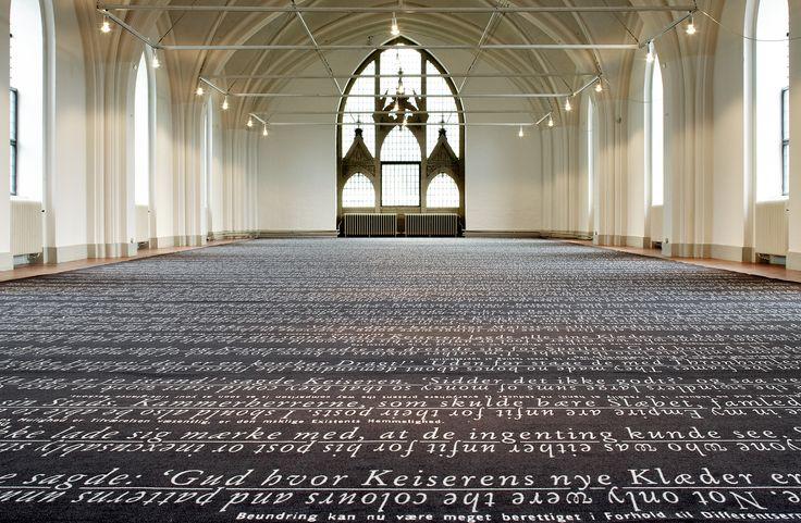Location: Nikolaj Copenhagen Contemporary Art Center, Denmark www.egecarpets.com