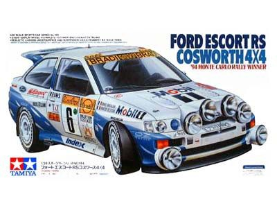 Boxart Ford Escort RS Cosworth 24144 Tamiya