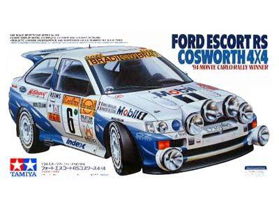 Boxart Ford Escort RS Cosworth 24144 Tamiya