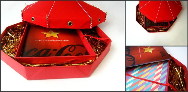 Kit de captação para o Festival Mundial de Circo. Ouro no Prêmio Minas de Comunicação 2012.
