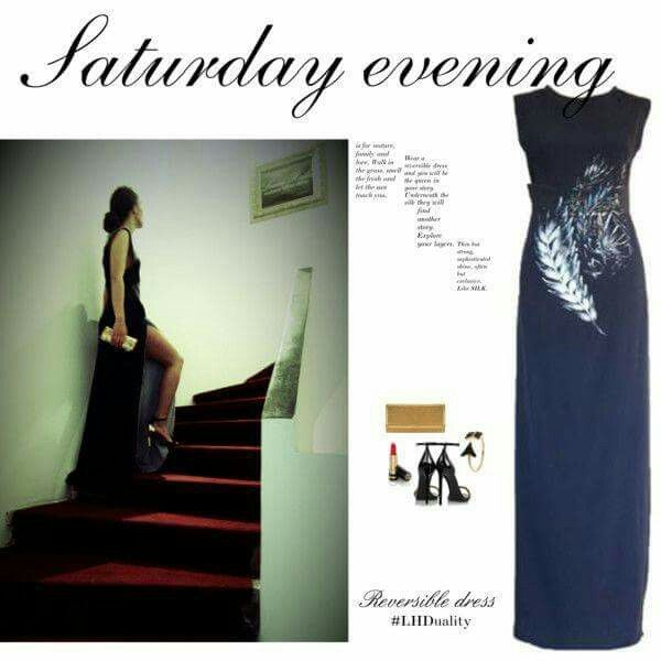 Saturday evening #ReversibleDress