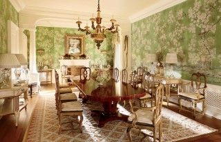 Traditional Dining Room by David Easton Inc. and Addison Mizner in Palm Beach, FL