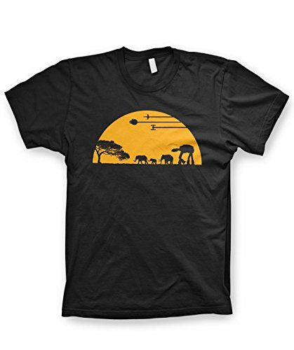 AT-AT shirt funny movie shirts funny tshirts graphic space shirt, Large