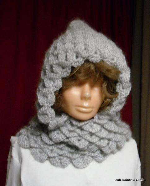 Crochet Unicorn Hooded Scarf Pattern : crochet scoodie eabrainbowcrafts crochet stitch crochet lovely crochet ...