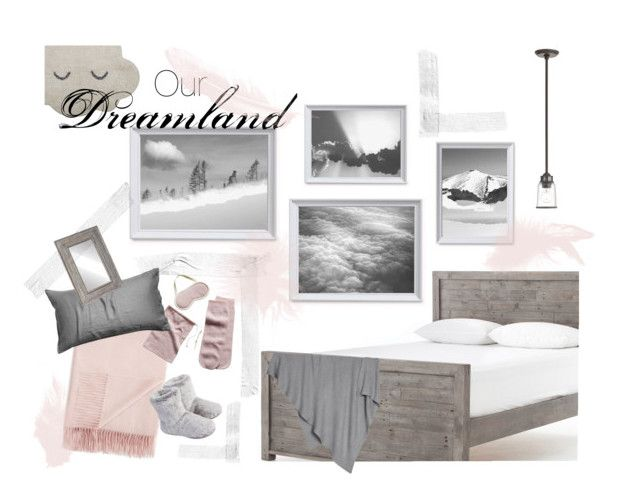 """""""Our Dreamland"""" by kacix on Polyvore featuring interior, interiors, interior design, home, home decor, interior decorating, Livex, Fraas, Sofiacashmere and Barefoot Dreams"""