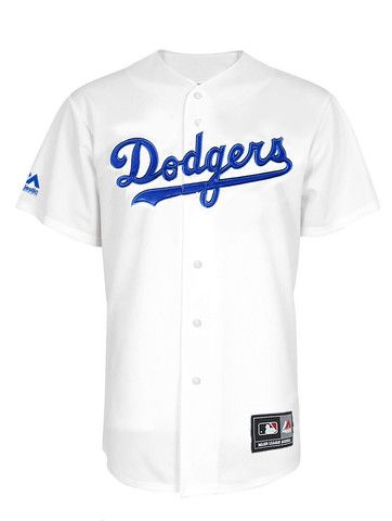 MLB LA Dodgers Jersey White