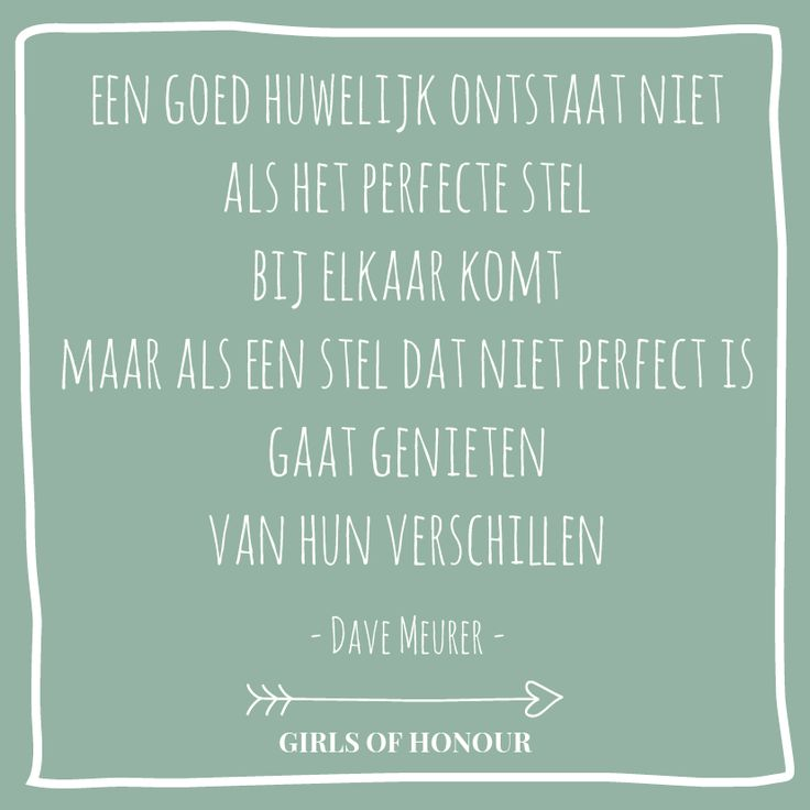 Vier je verschillen // Girls of honour #liefde #liefdesquote #quote…
