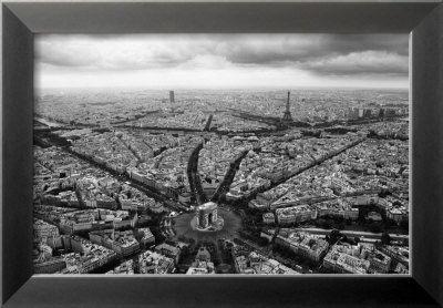 Paris, l'Etoile Vue du Ciel Prints by Guillaume Plisson - at AllPosters.com.au