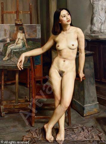 hong kong artist female naked
