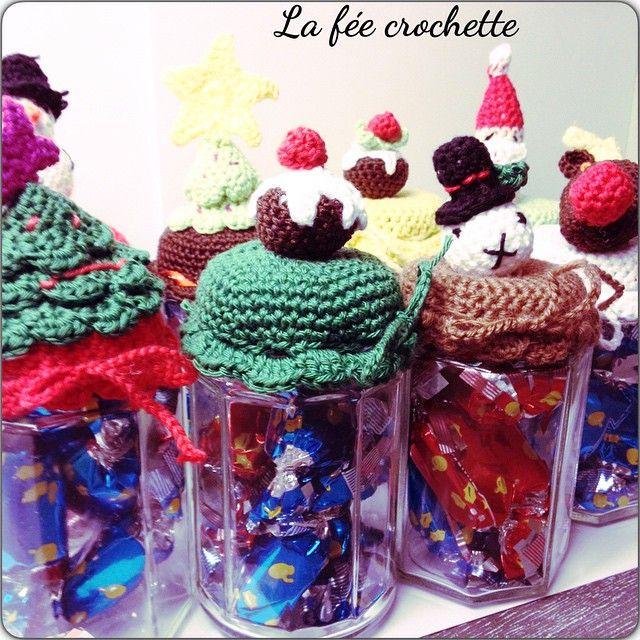 #potsapapillotte #crochetaddict #crochet #crochetdenoel #Padgram