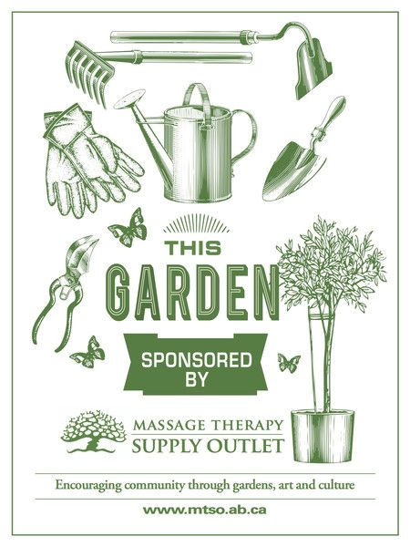 We Support Gardens! | Massage Therapy Supply Outlet