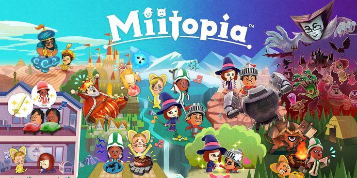#Noticias   Miitopia: Crea Tu Propia Historia