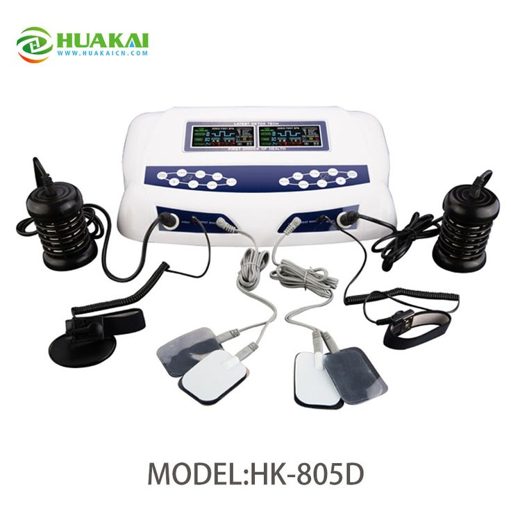2017 Newest Comfort Foot Spa Detox machine with Far infrared waist belt and TENS function
