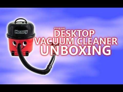 Henry Hoover Desktop Vacuum Cleaner Unboxing & Review