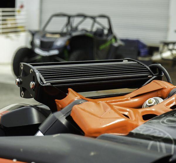 Baja Designs Can Am Maverick X3 Shock Mount Light Mount With Onx6 Led Light Kit Led Light Bars Led Light Kits Led Lights