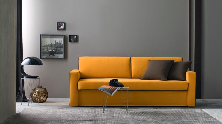 Nuovo divano letto singolo modello Brera - Tino Mariani. www.tinomariani.it
