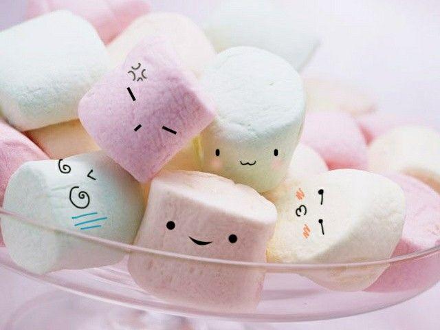 Cute marshmallow treats