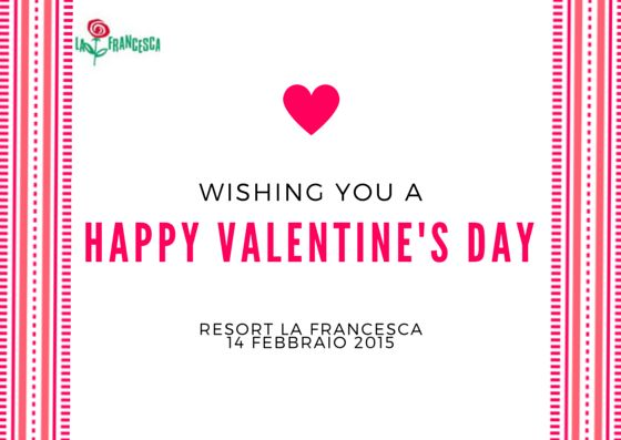 #ValentinesDay at Resort La Francesca : 2 nights accommodations, welcome wine, breakfast kit, promotional rate!